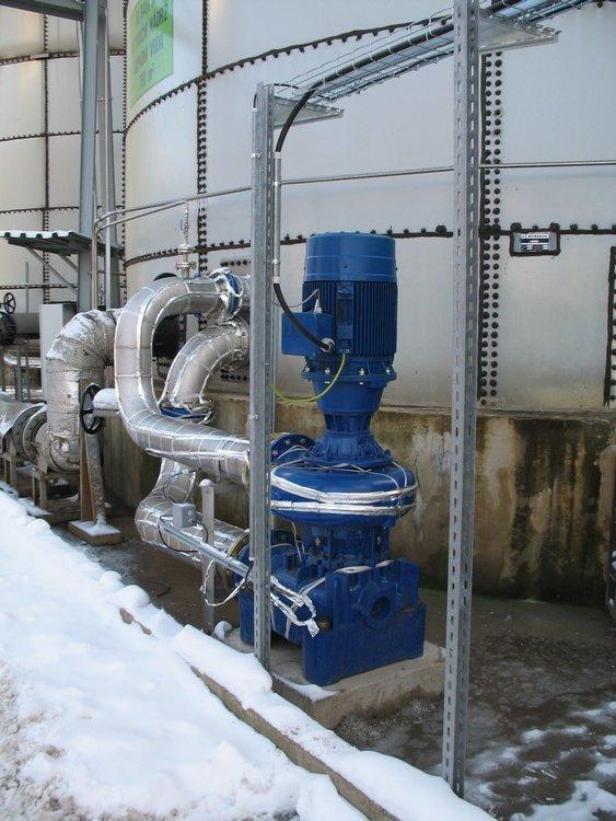Oběhová čerpadla bioreaktoru<br />Spolchemie