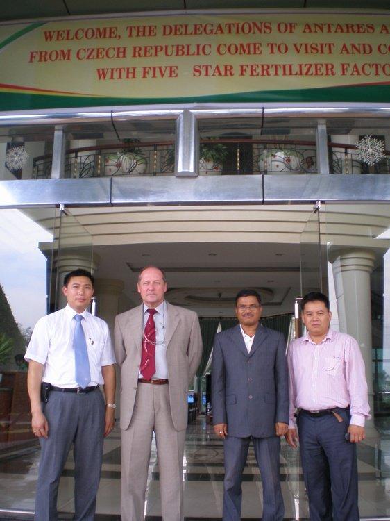 Výroba hnojiv, jednání Vietnam<br />