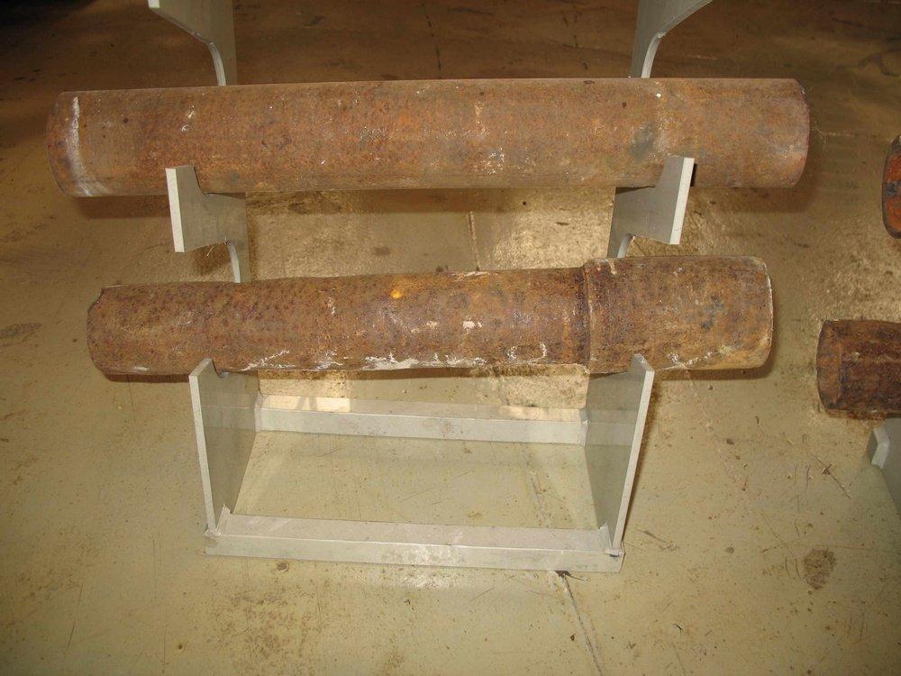 Trubky před čištěním radiace<br />
