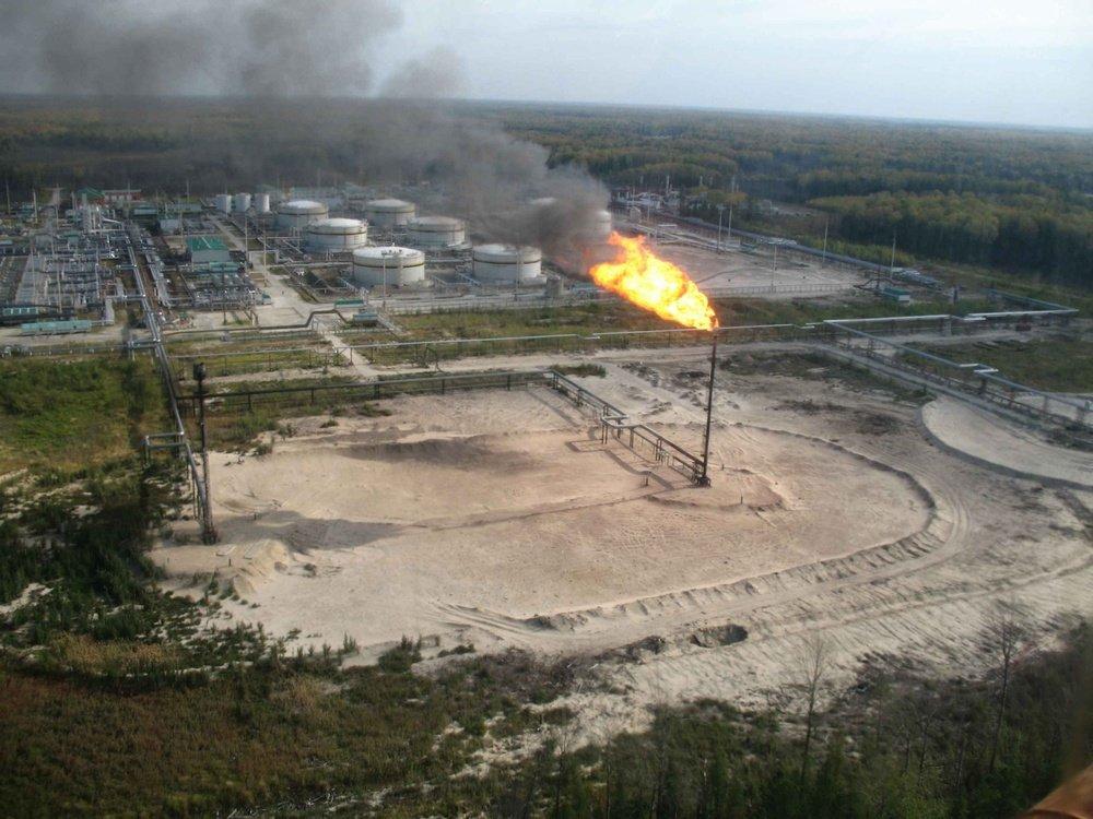 Řešení čištění ambarů<br />ROSNĚFT Neftějugansk