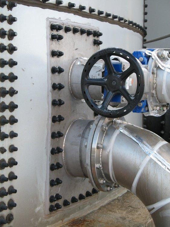 Řešení nových vstupů do nádrží<br />Spolchemie Ústí<br />