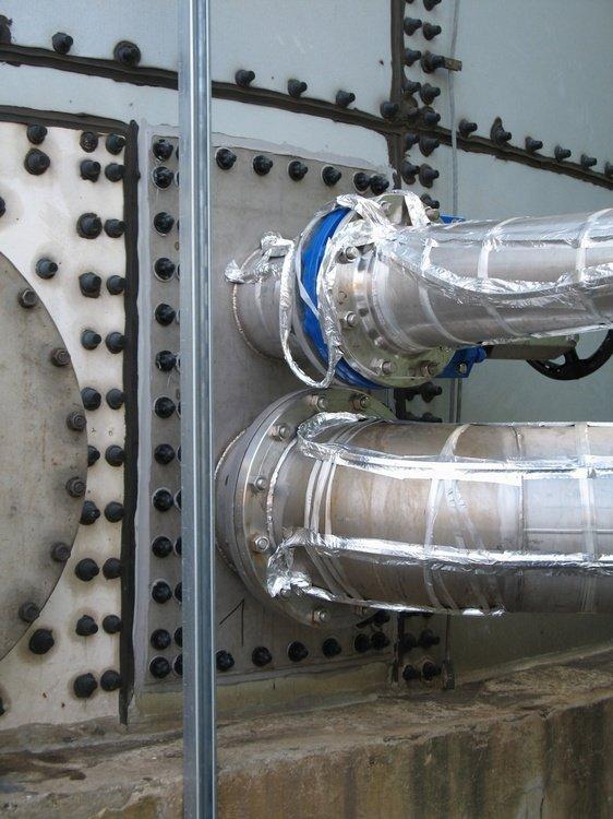 Řešení nových vstupů do nádrží<br />Spolchemie Ústí